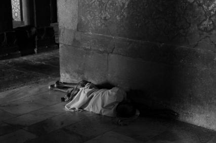 Matthew Carne, Sleeping Man at Agra