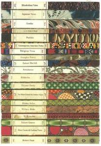 poetry spines