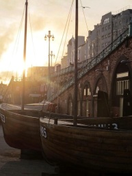 Brighton Boats by Brooke Haffenden